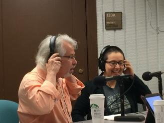LRT Jack and Tisse in studio