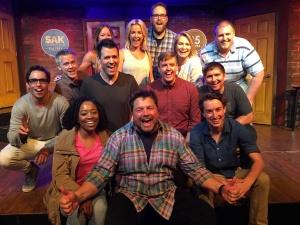 A class at SAK Comedy Lab in Orlando